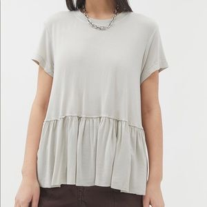 Truly Madly Deeply Dusty Roads peplum tee